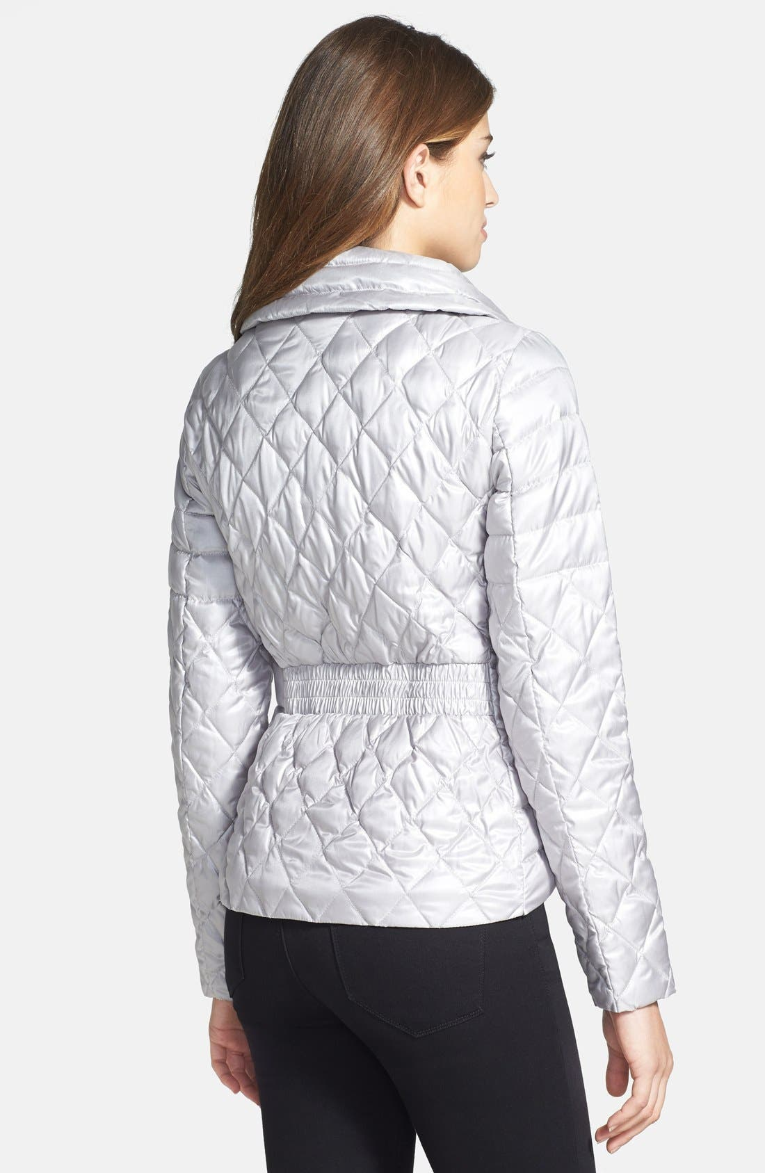 Alternate Image 2  - Vince Camuto Packable Quilted Down Jacket
