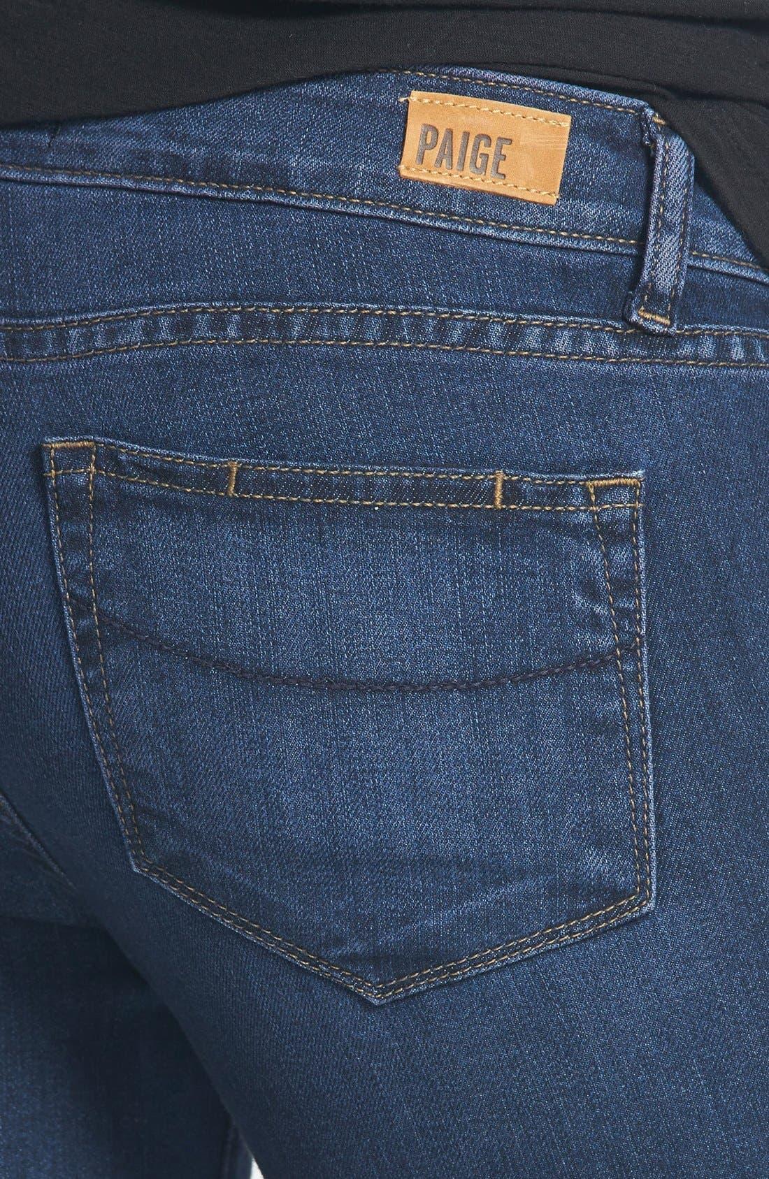 Alternate Image 3  - Paige Denim 'Kylie' Crop Skinny Jeans (Claire)