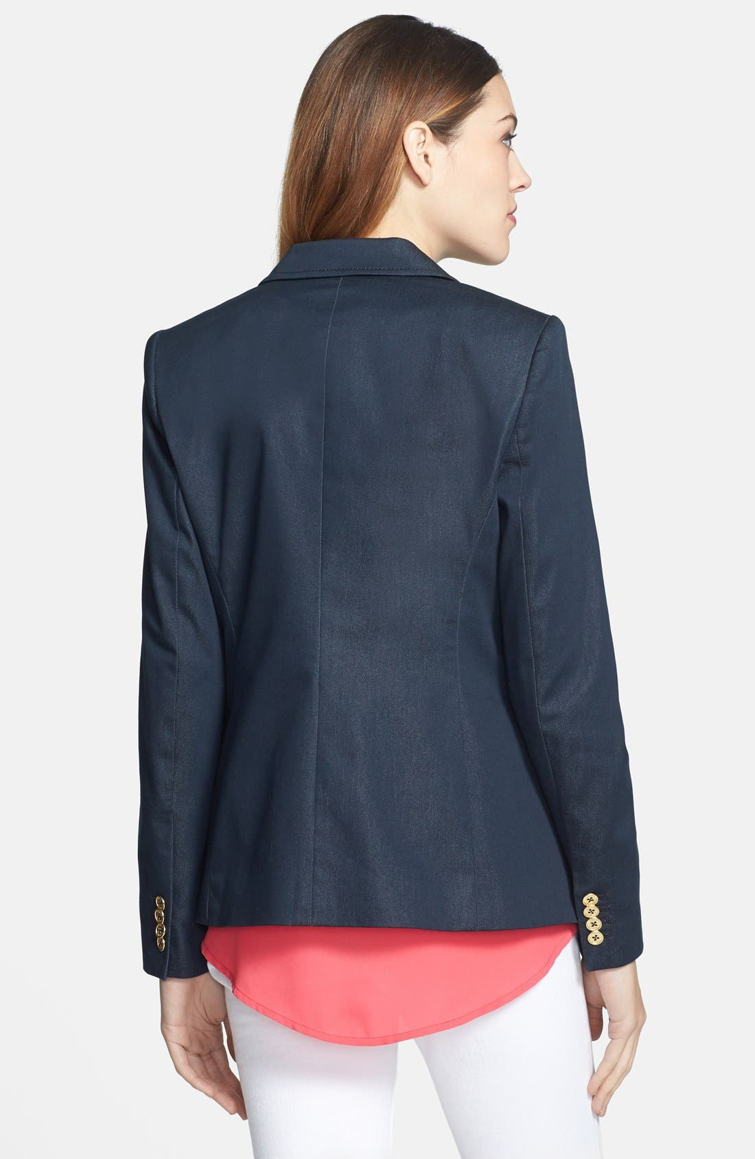 Alternate Image 2  - Vince Camuto 'Smart Denim' Single-Button Blazer