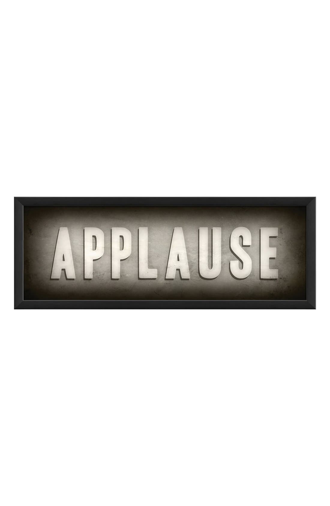 Alternate Image 1 Selected - Spicher and Company 'Applause' Theater Sign Artwork