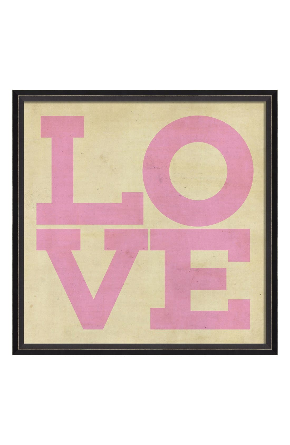 Main Image - Spicher and Company 'Love' Vintage Look Sign Artwork