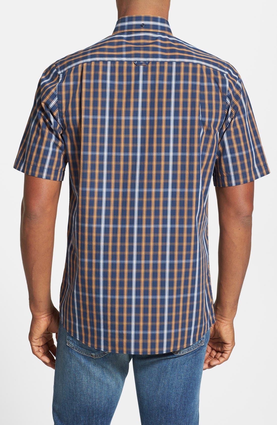 Alternate Image 2  - Nordstrom Short Sleeve Woven Sport Shirt