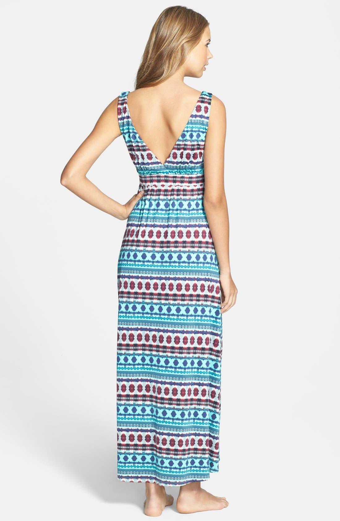 Alternate Image 2  - La Blanca 'Gypsetter' Maxi Dress