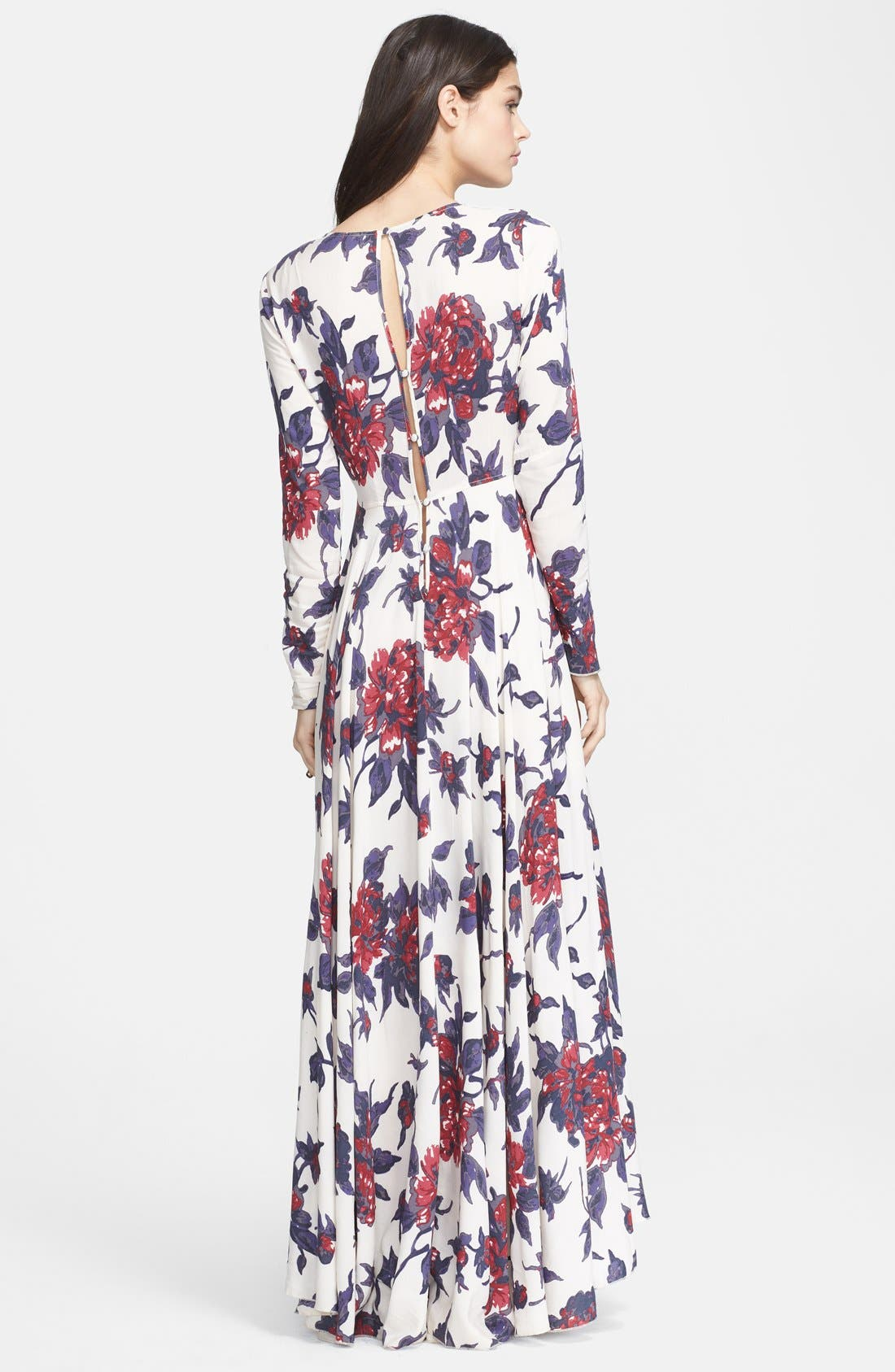 Alternate Image 2  - Free People 'First Kiss' Cotton Maxi Dress