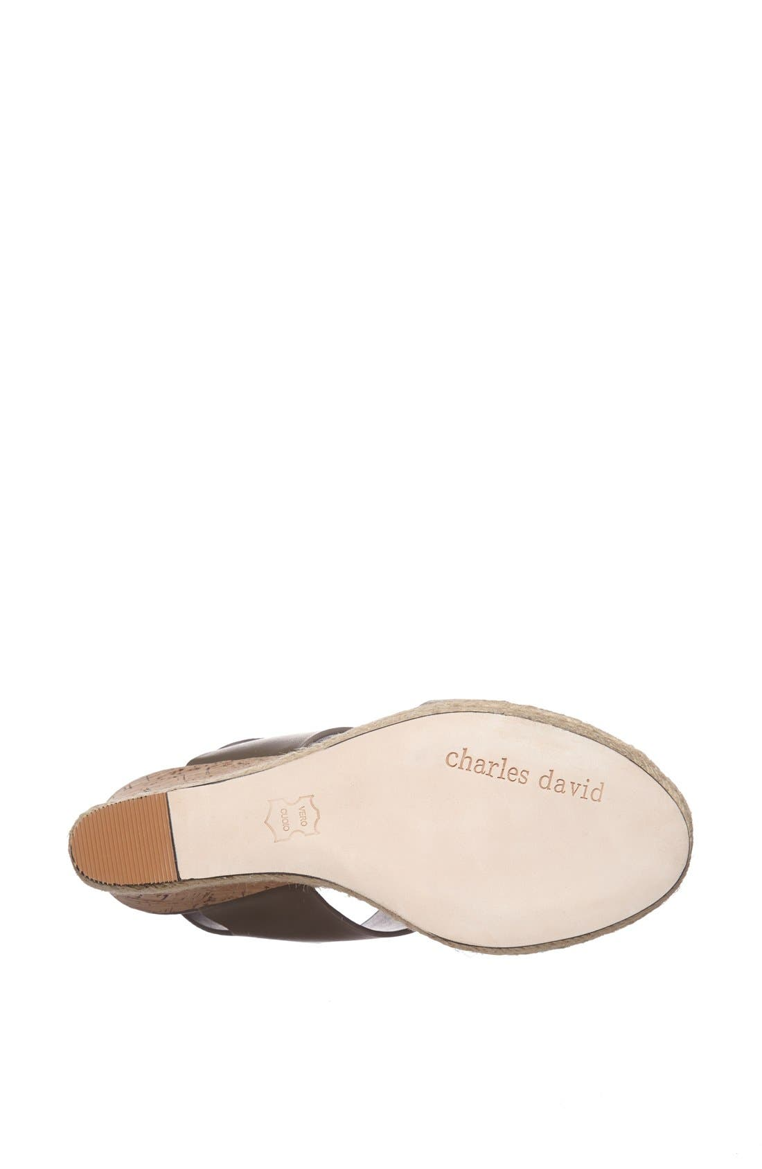 Alternate Image 4  - Charles David 'Oriel' Sandal