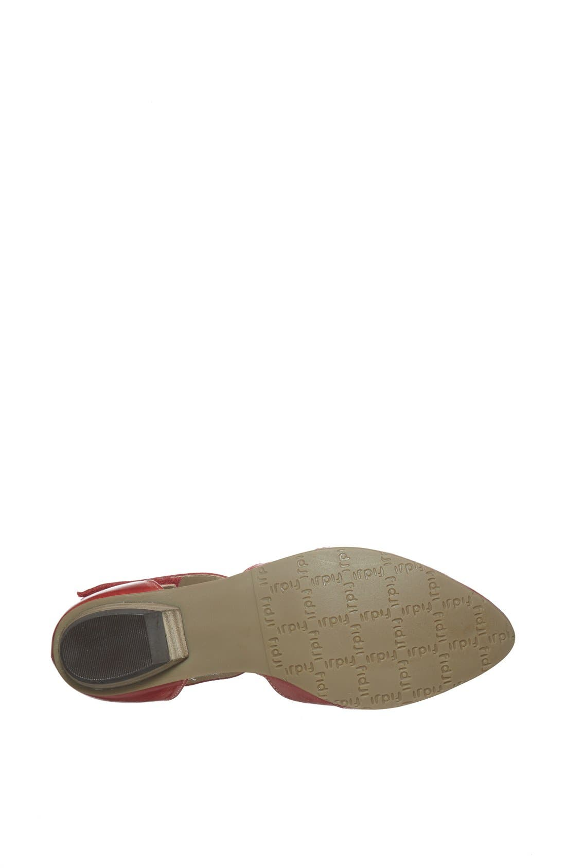 Alternate Image 4  - Fidji Ankle Strap d'Orsay Flat