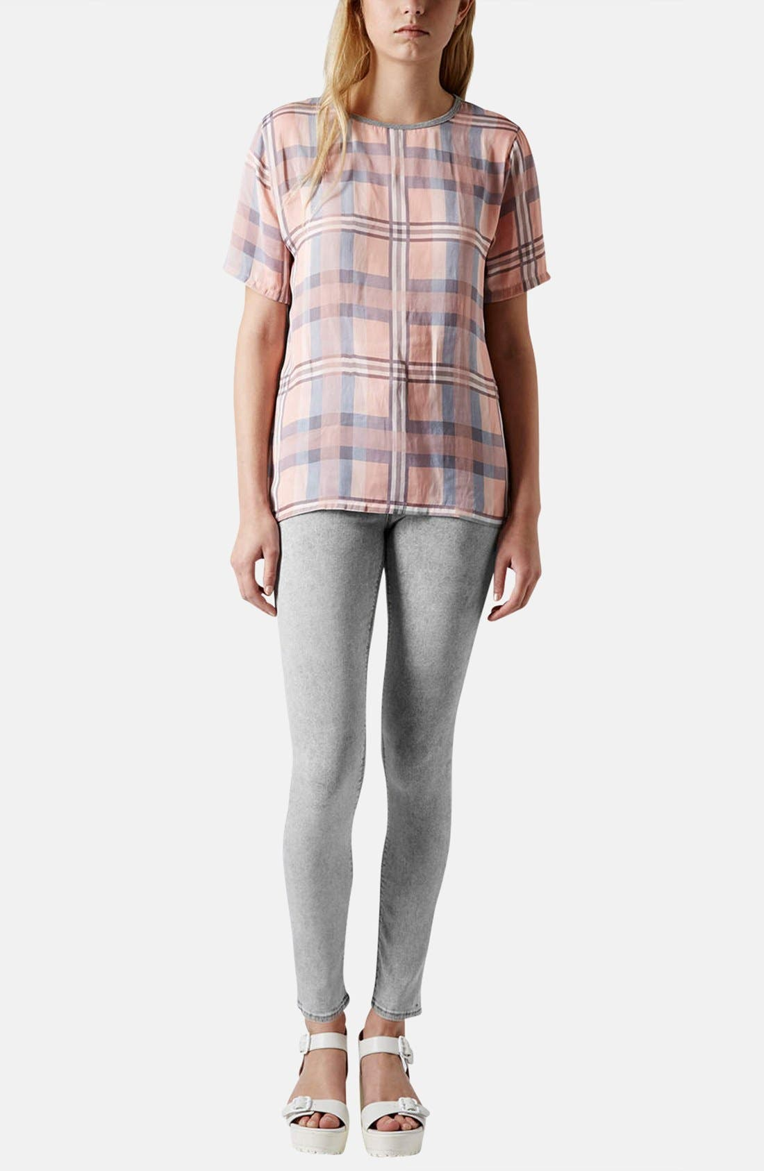 Alternate Image 5  - Topshop Moto 'Leigh' Skinny Ankle Jeans