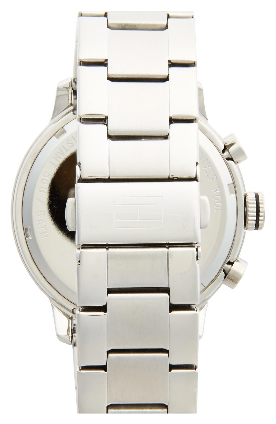 Alternate Image 2  - Tommy Hilfiger 'Sport' Chronograph Bracelet Watch, 45mm