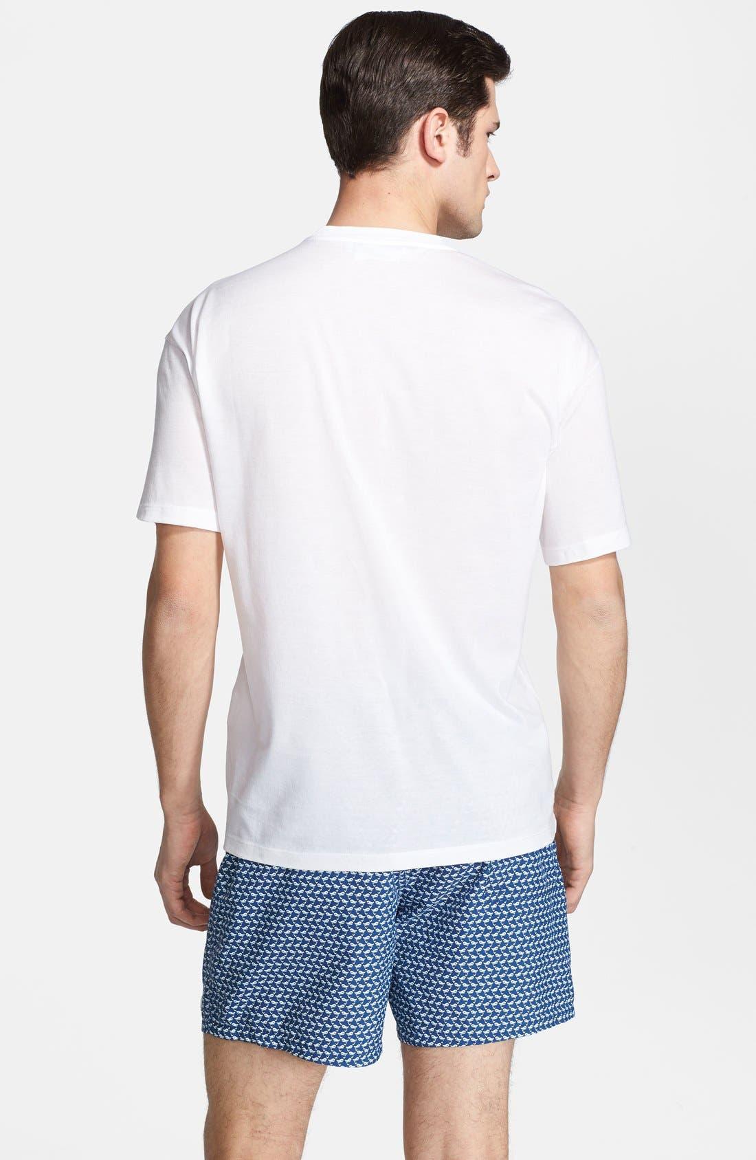 Alternate Image 2  - Salvatore Ferragamo 'Number 2' Crewneck T-Shirt