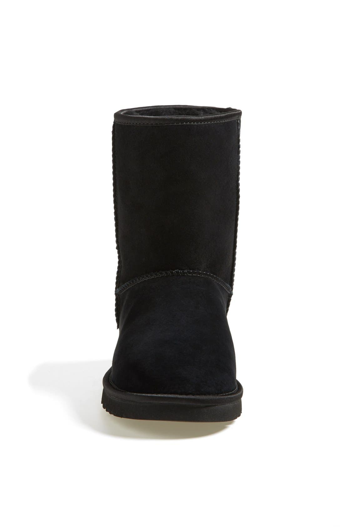 Alternate Image 3  - UGG® Australia 'Classic Short - Crystal Bow' Water Resistant Suede Boot (Women)