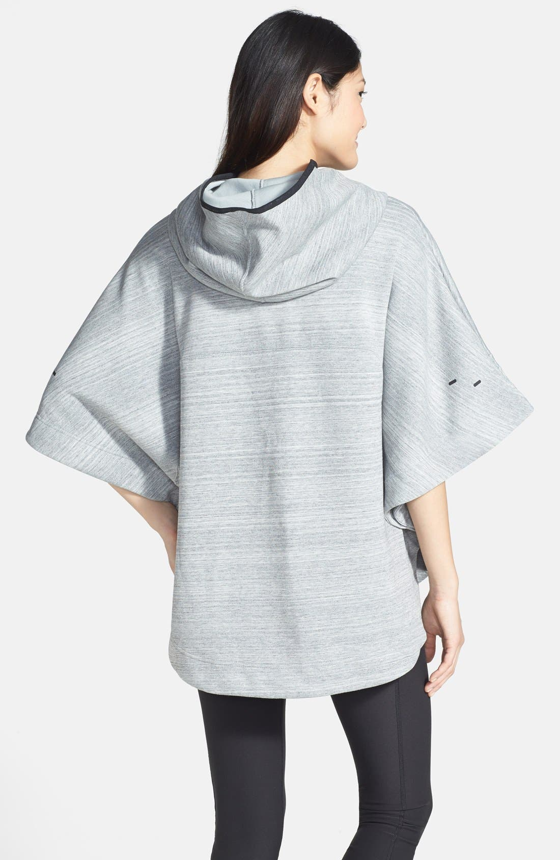 Alternate Image 2  - Nike 'Tech' Fleece Hooded Poncho