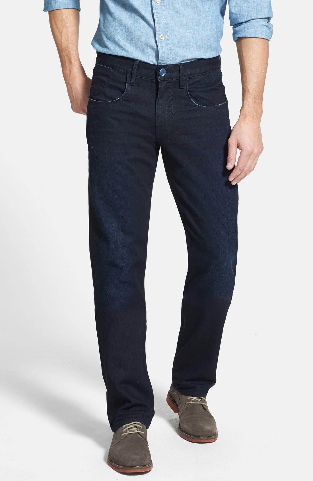 Alternate Image 1 Selected - Robert Graham 'Rocker' Slim Fit Stretch Pants