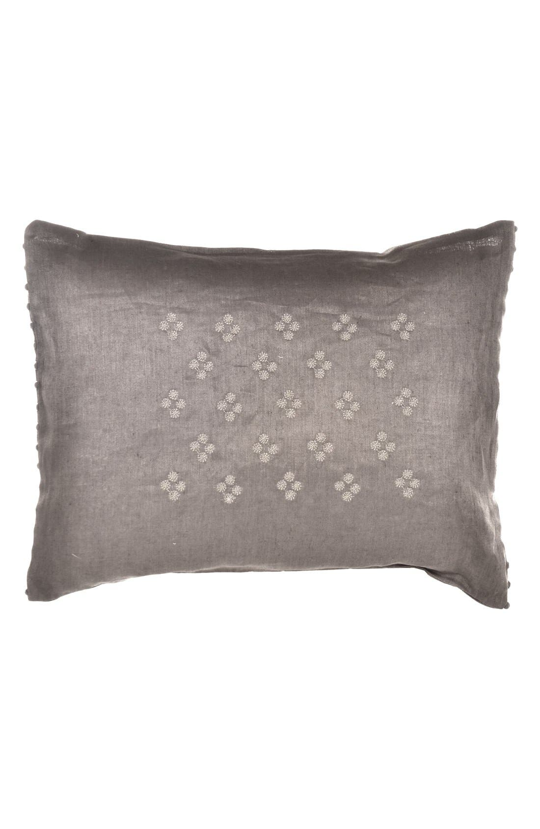 Alternate Image 1 Selected - Vera Wang 'Damask' Embroidered Pillow