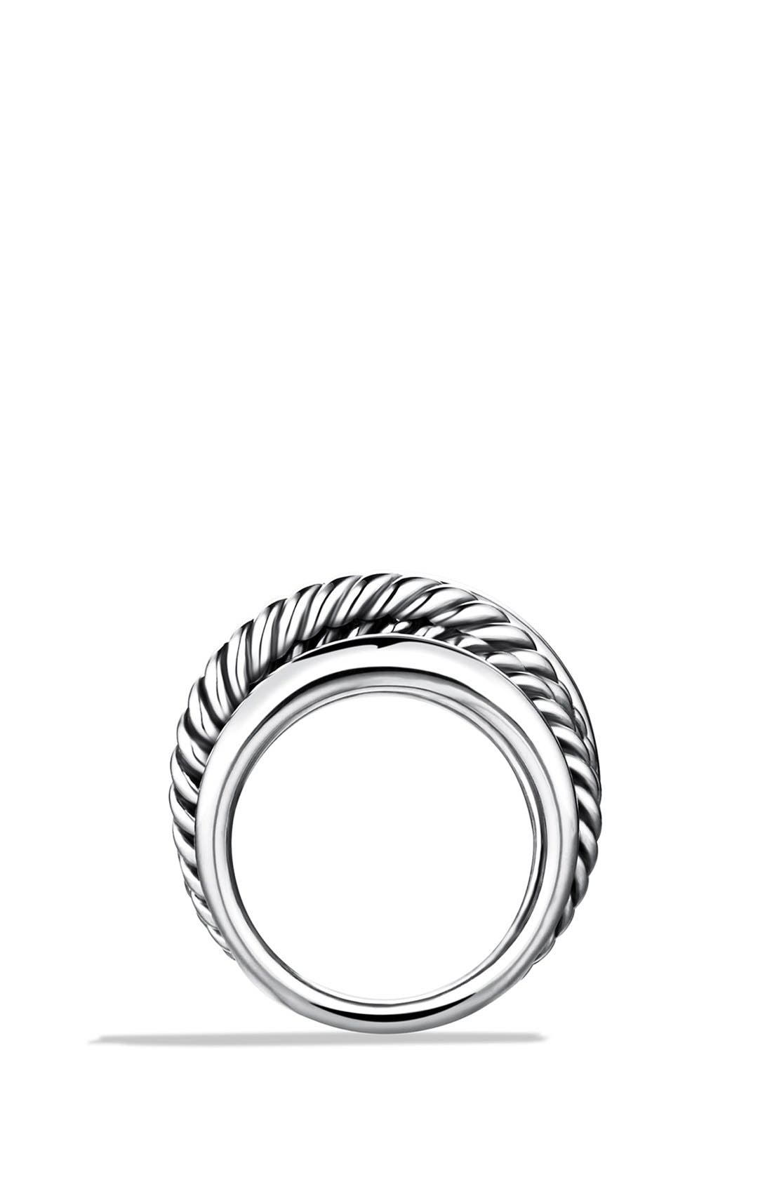 Alternate Image 2  - David Yurman 'Crossover' Narrow Ring