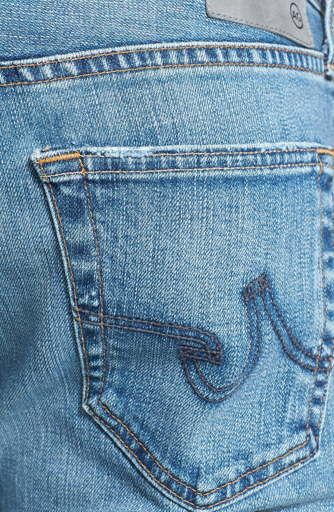 Alternate Image 4  - AG 'Matchbox' Slim Fit Jeans (Swift)