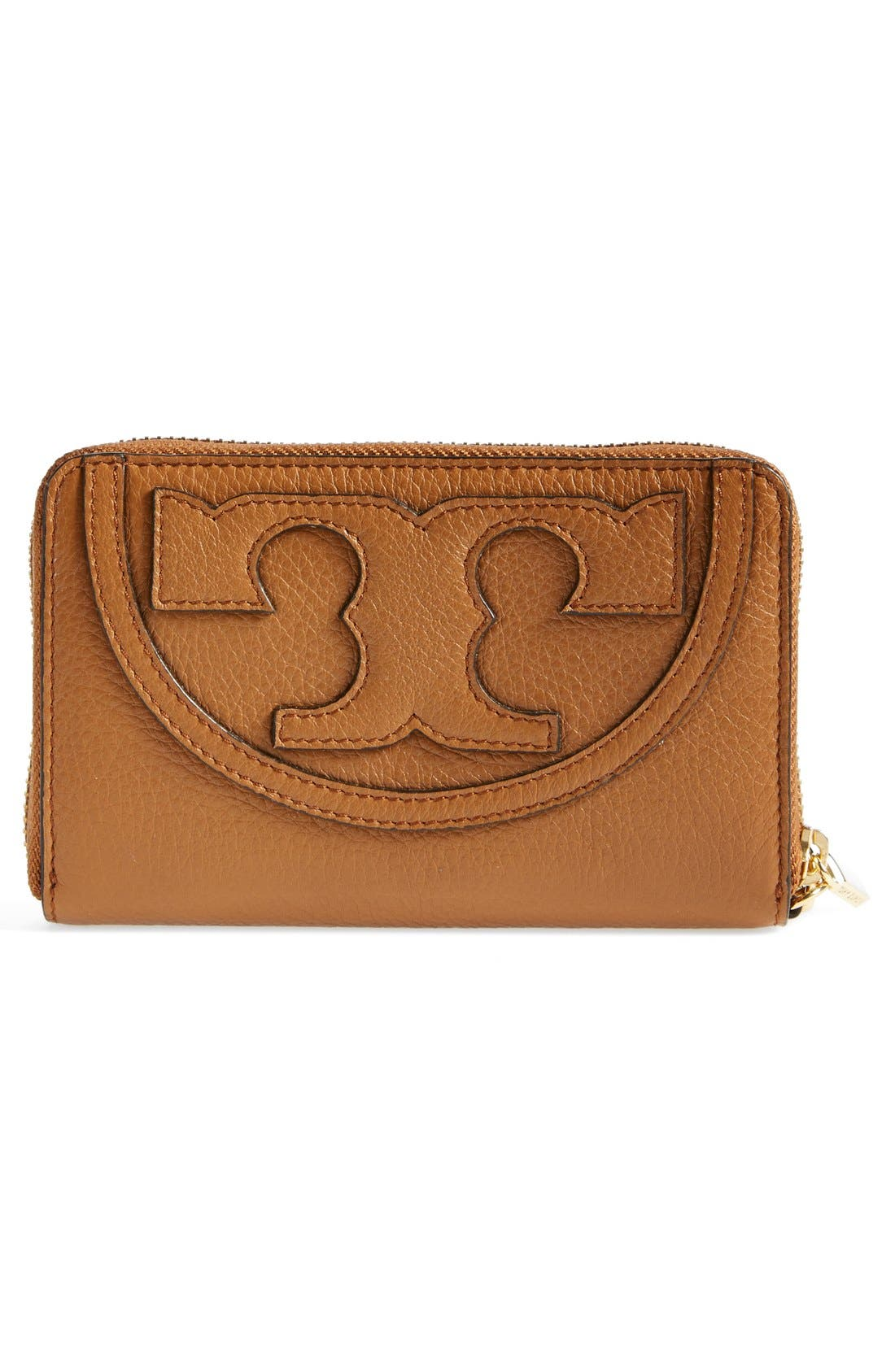Alternate Image 3  - Tory Burch 'All T' Leather Phone Wallet