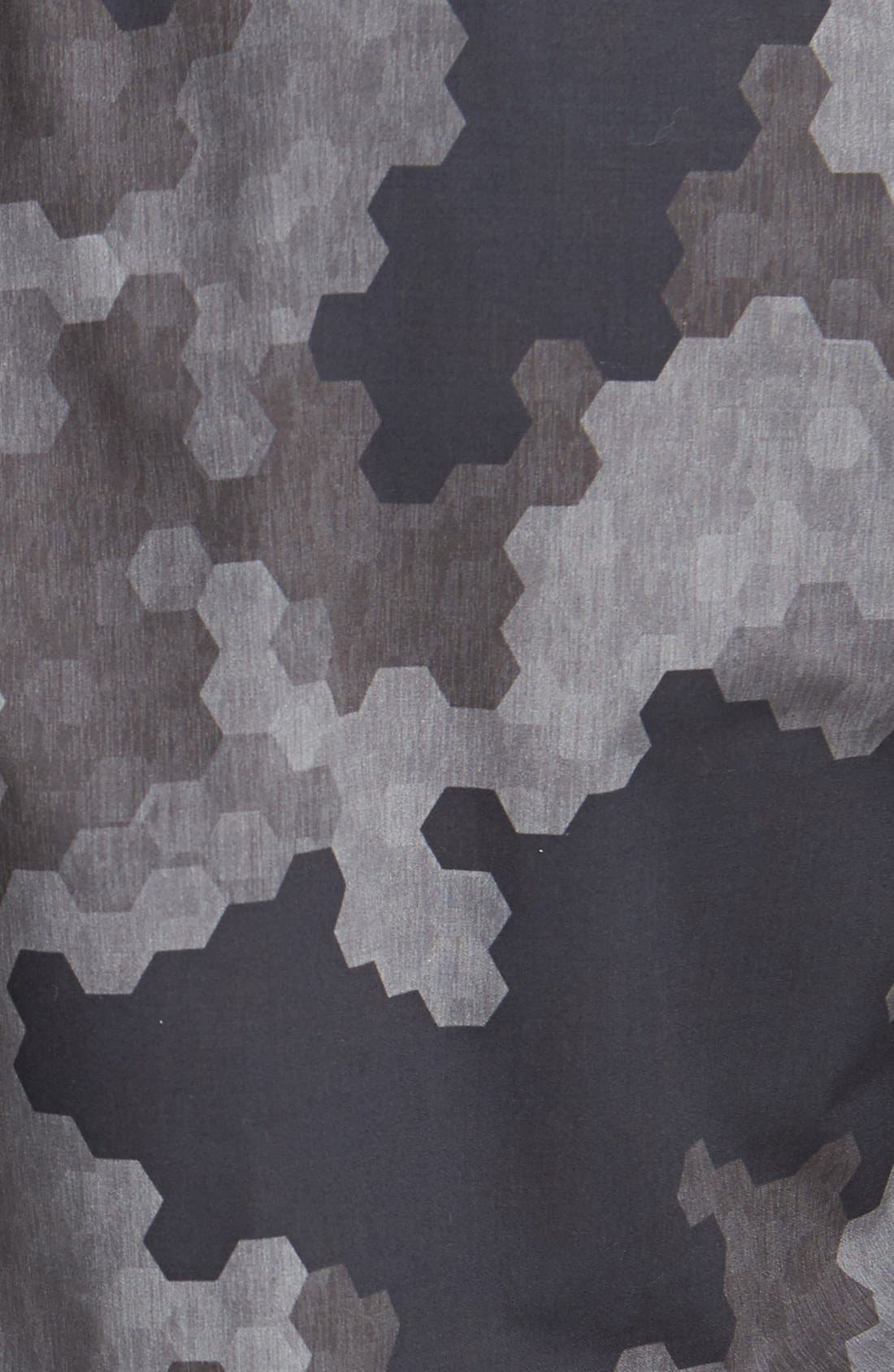 Alternate Image 3  - HUGO 'Ero' Slim Fit Camo Print Sport Shirt