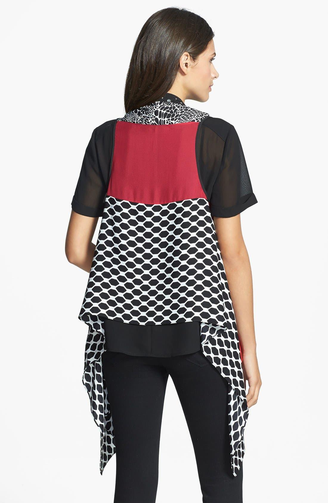 Alternate Image 2  - Diane von Furstenberg Silk Wrap Vest
