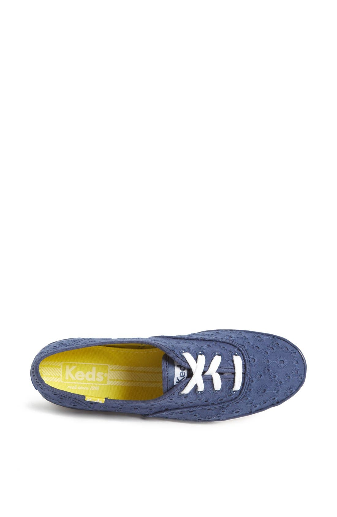 Alternate Image 3  - Keds® 'Champion - Eyelet' Sneaker (Women)