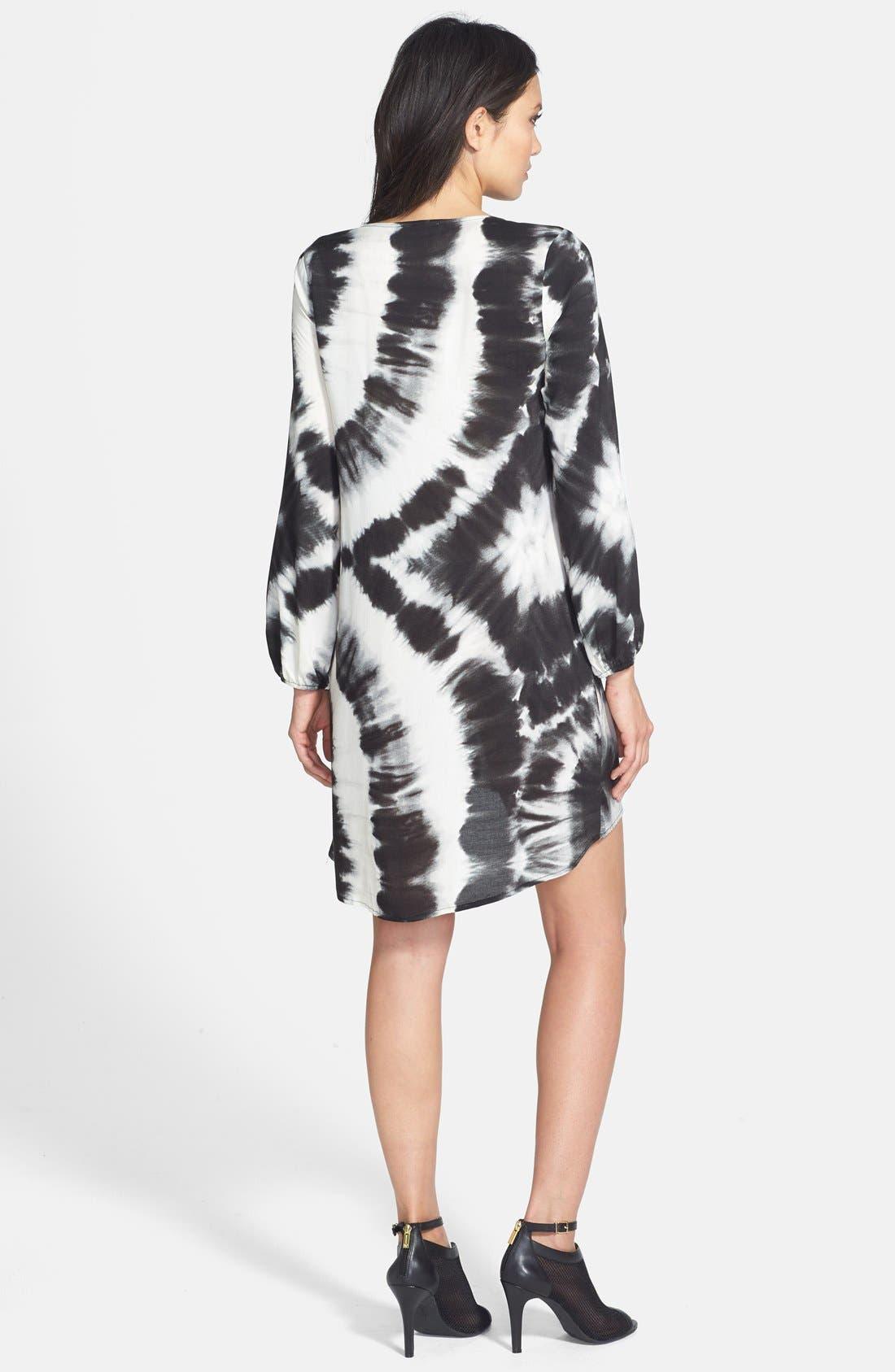 Alternate Image 2  - June & Hudson Long Sleeve Tunic Dress