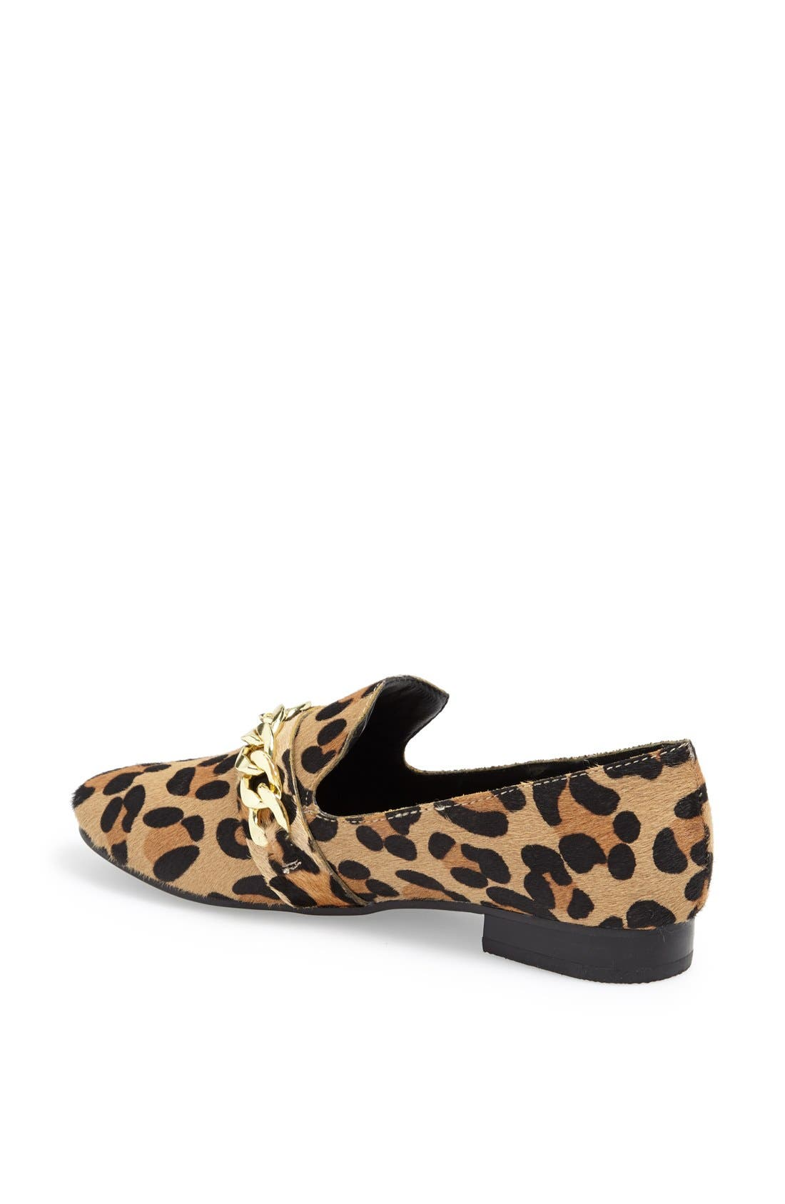 Alternate Image 2  - Steve Madden 'Chaingng' Calf Hair Flat