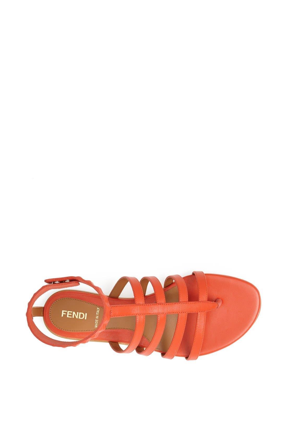 Alternate Image 3  - Fendi 'Diana' Leather Sandal