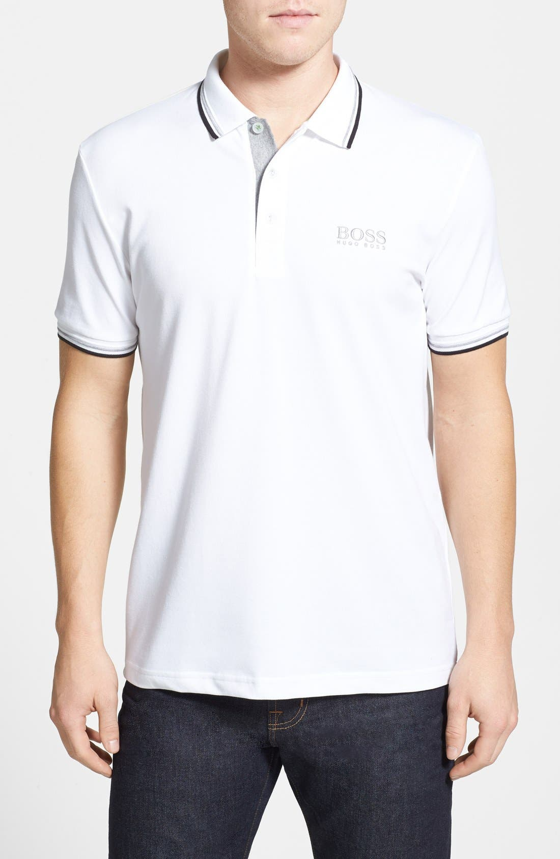 Main Image - BOSS Green 'Paddy' Modern Fit Polo