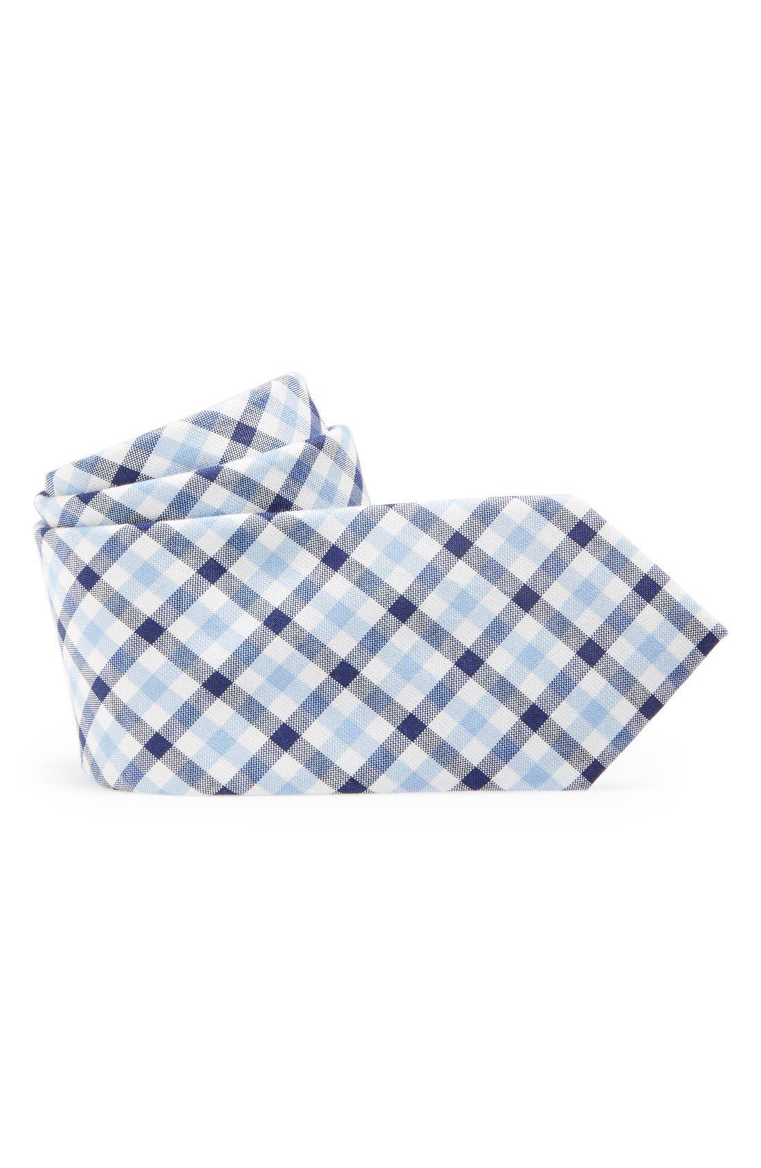Alternate Image 1 Selected - Nordstrom Cotton Blend Tie (Big Boys)