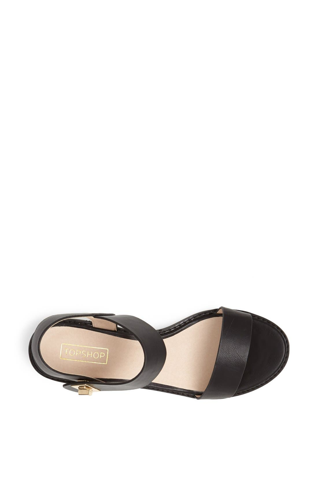 Alternate Image 3  - Topshop 'Heartbreaker' Sandal