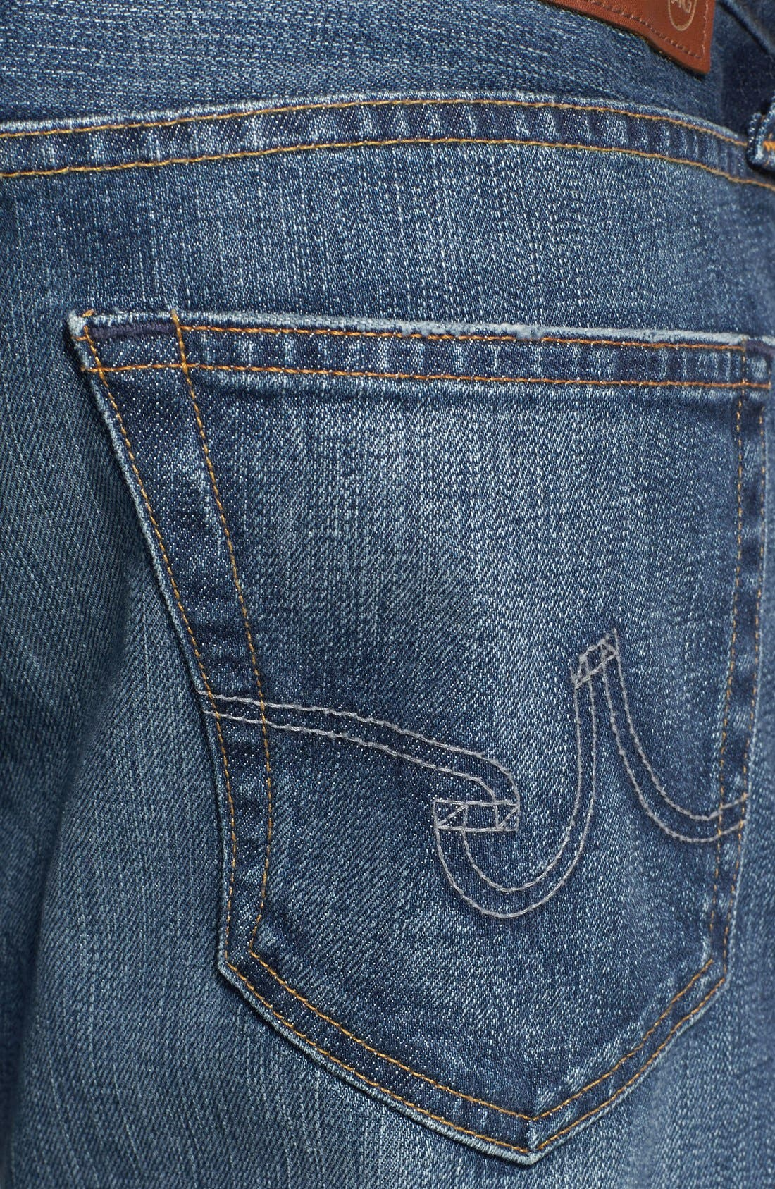 Alternate Image 4  - AG 'Graduate' Tailored Fit Straight Leg Jeans (13 Years Launch)