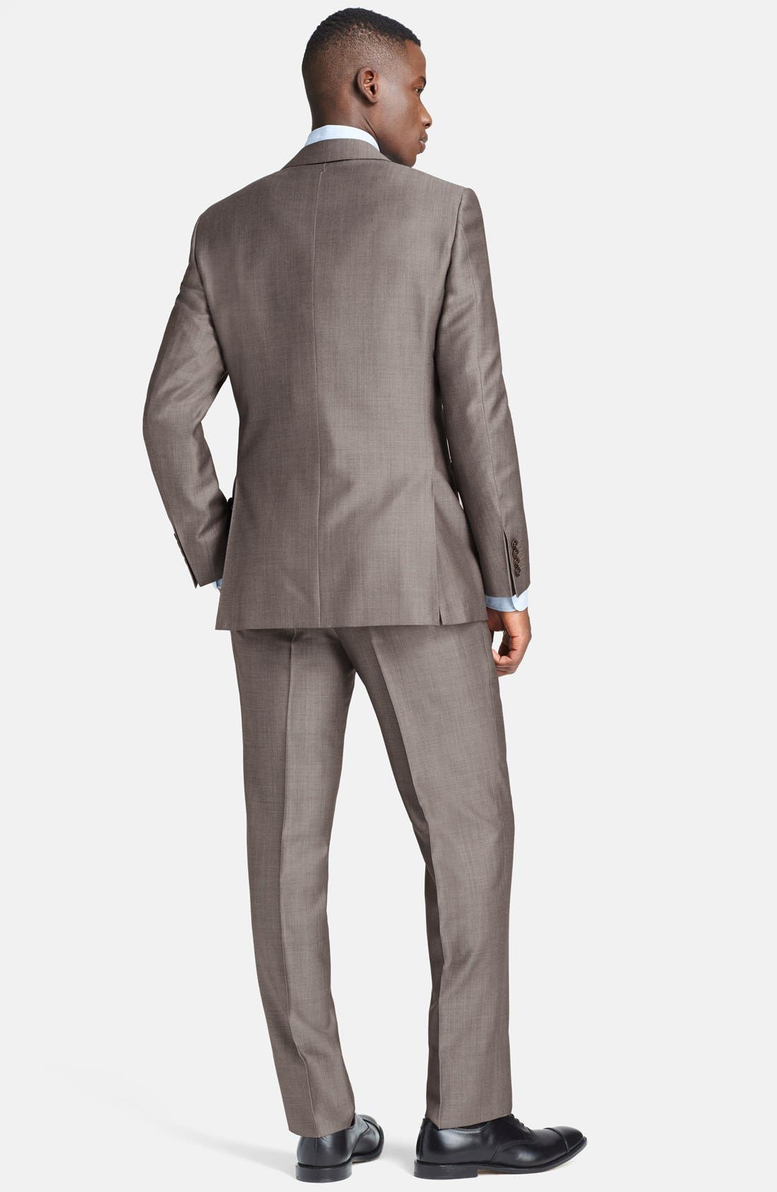 Alternate Image 2  - Canali Classic Fit Wool & Mohair Suit