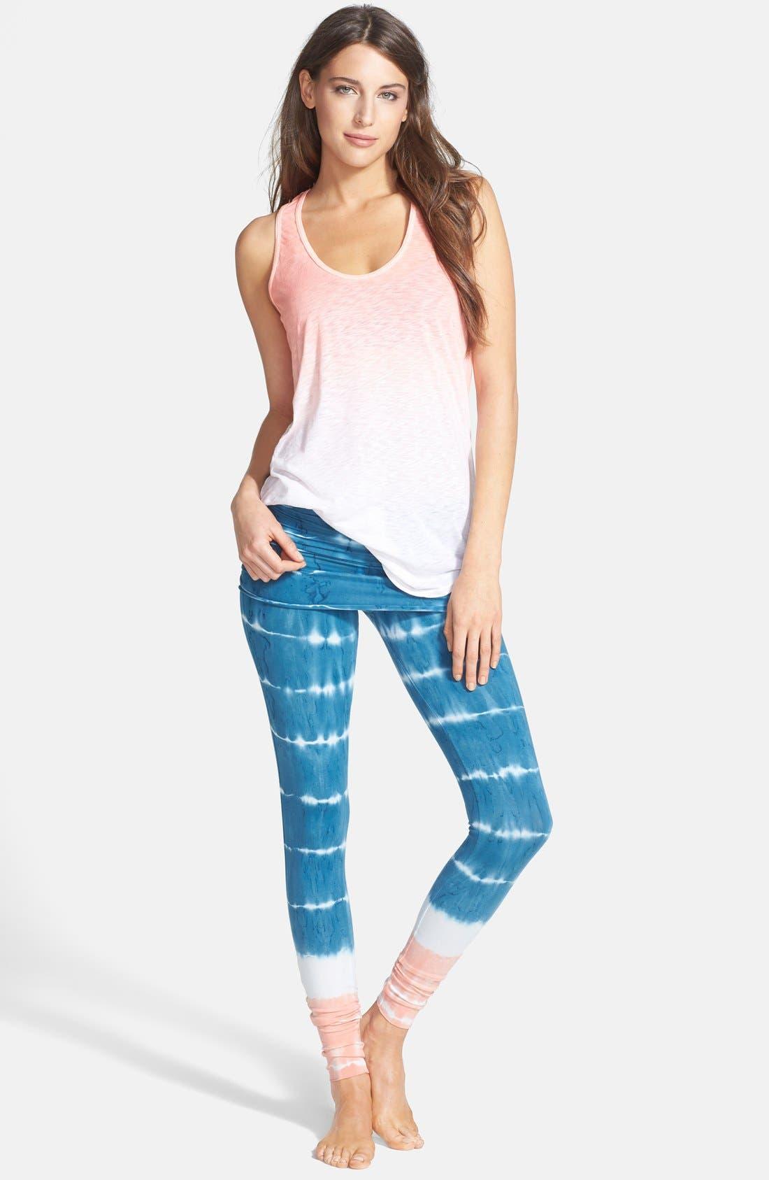 Alternate Image 3  - Omgirl 'Bold Stripe Nomad' Organic Cotton Leggings