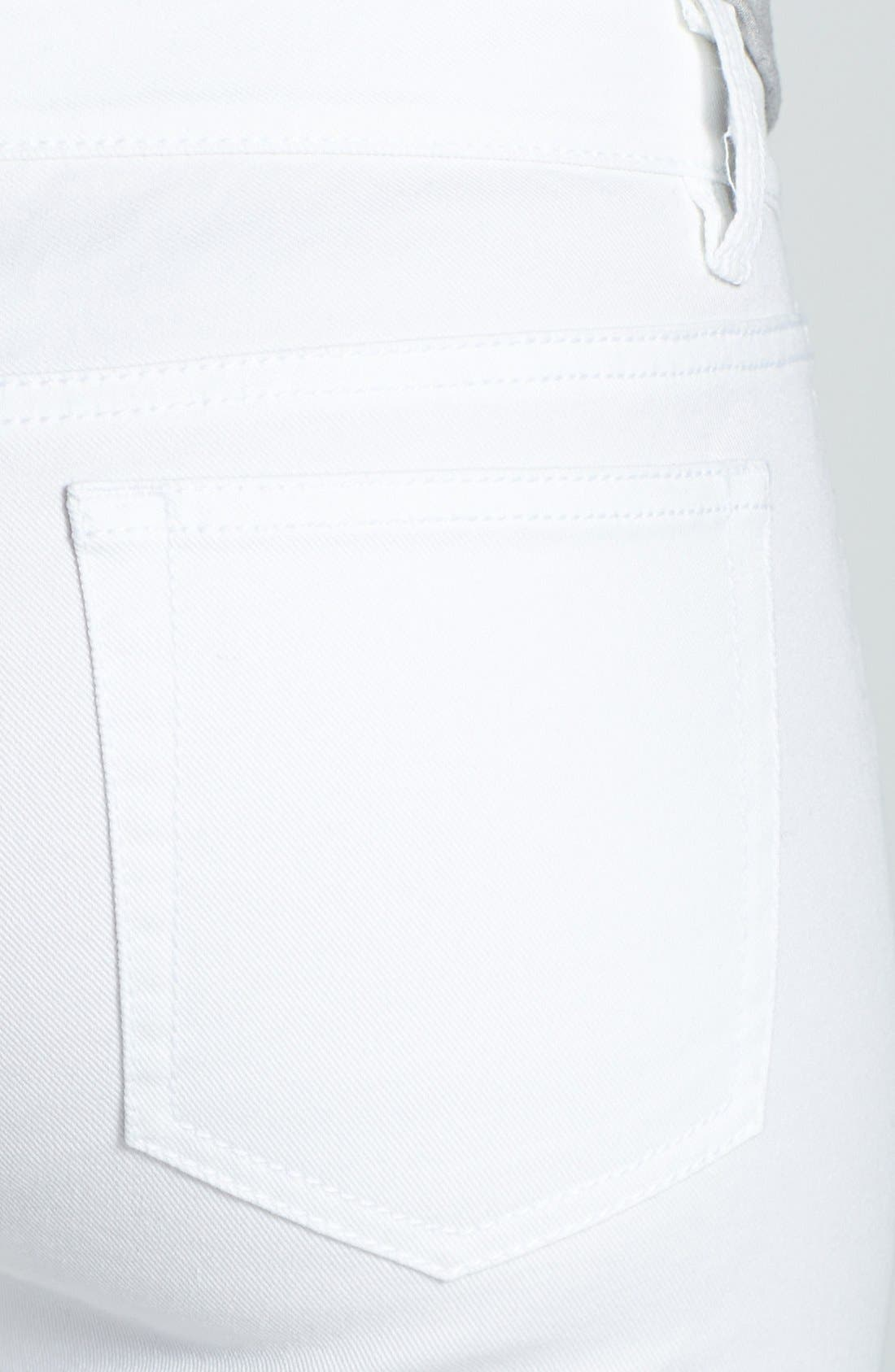 Alternate Image 4  - MICHAEL Michael Kors Zip Detail Skinny Jeans (Regular & Petite)