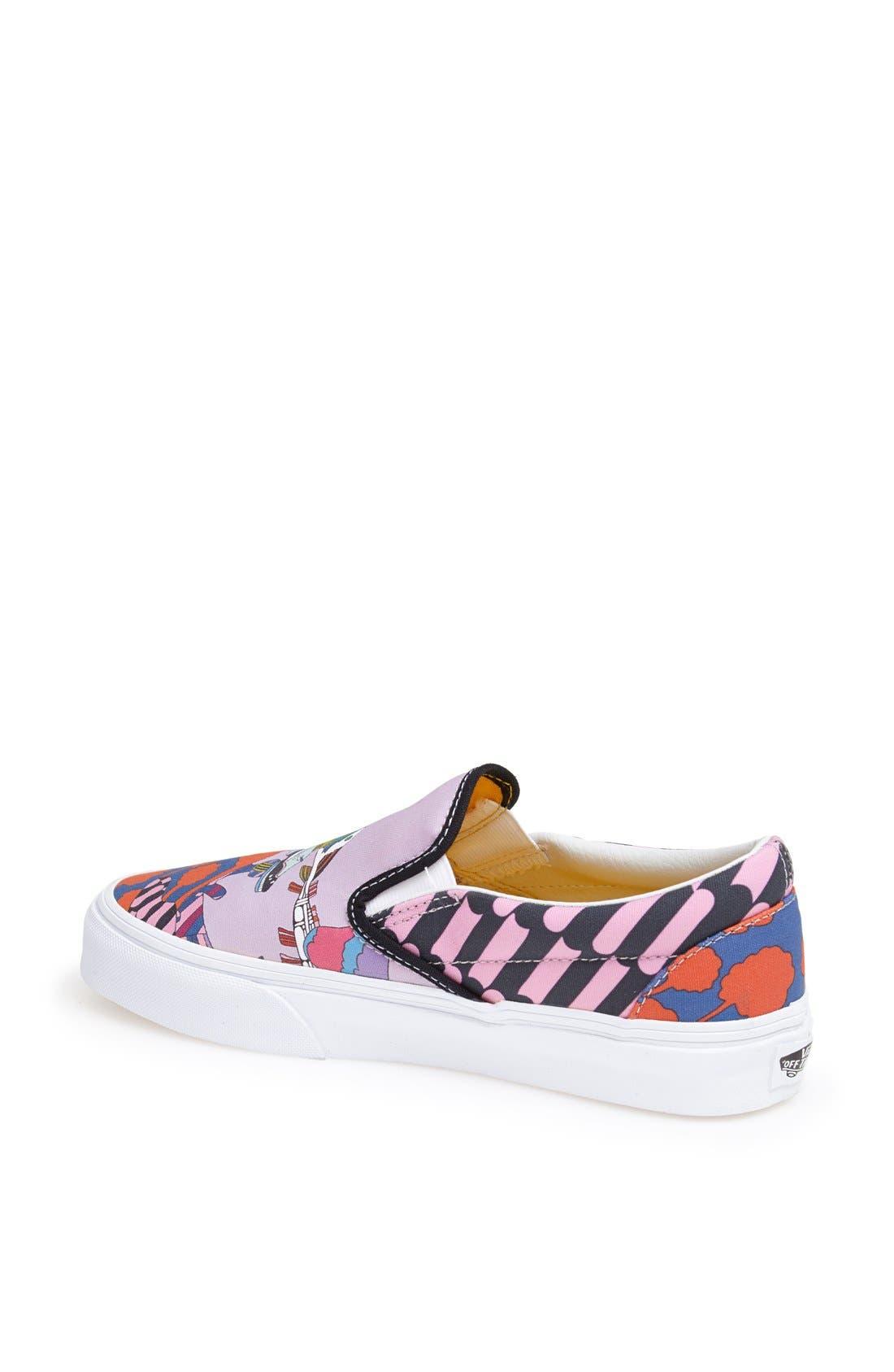 Alternate Image 2  - Vans 'Sea of Monster' Slip-On Sneaker (Women)