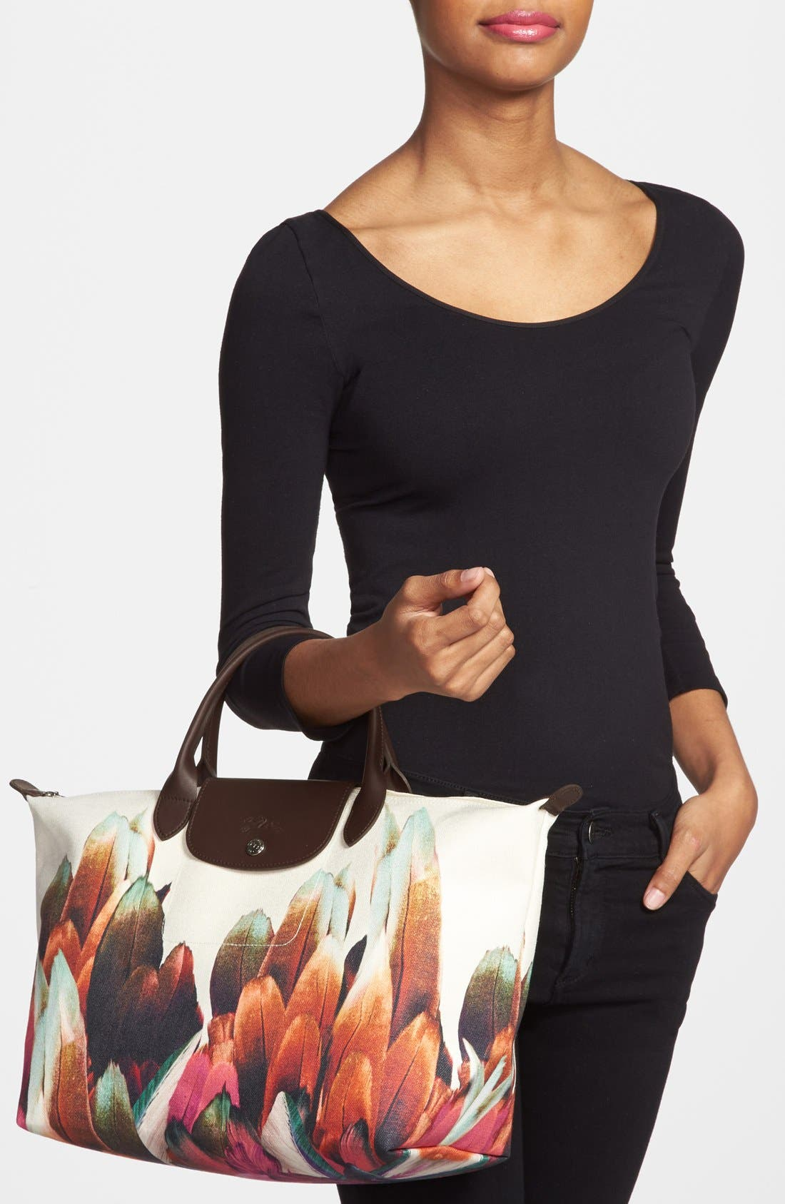 Alternate Image 2  - Longchamp 'Medium Tribu' Handbag
