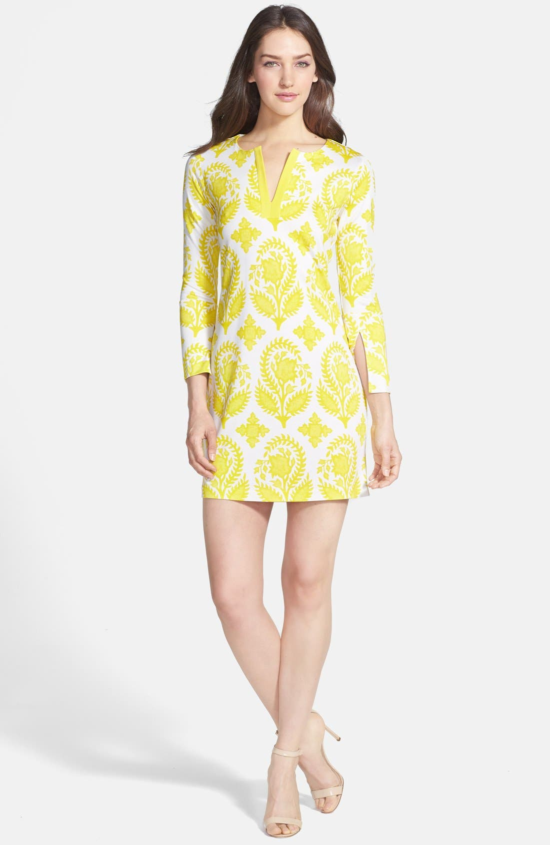 Alternate Image 1 Selected - Diane von Furstenberg 'New Reina Two' Silk Shift Dress