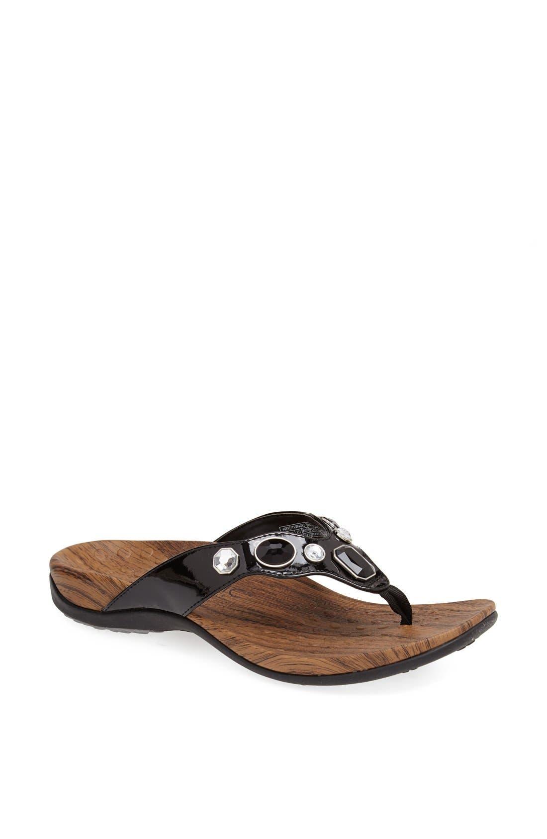Main Image - Vionic 'Eve' Toe Post Sandal