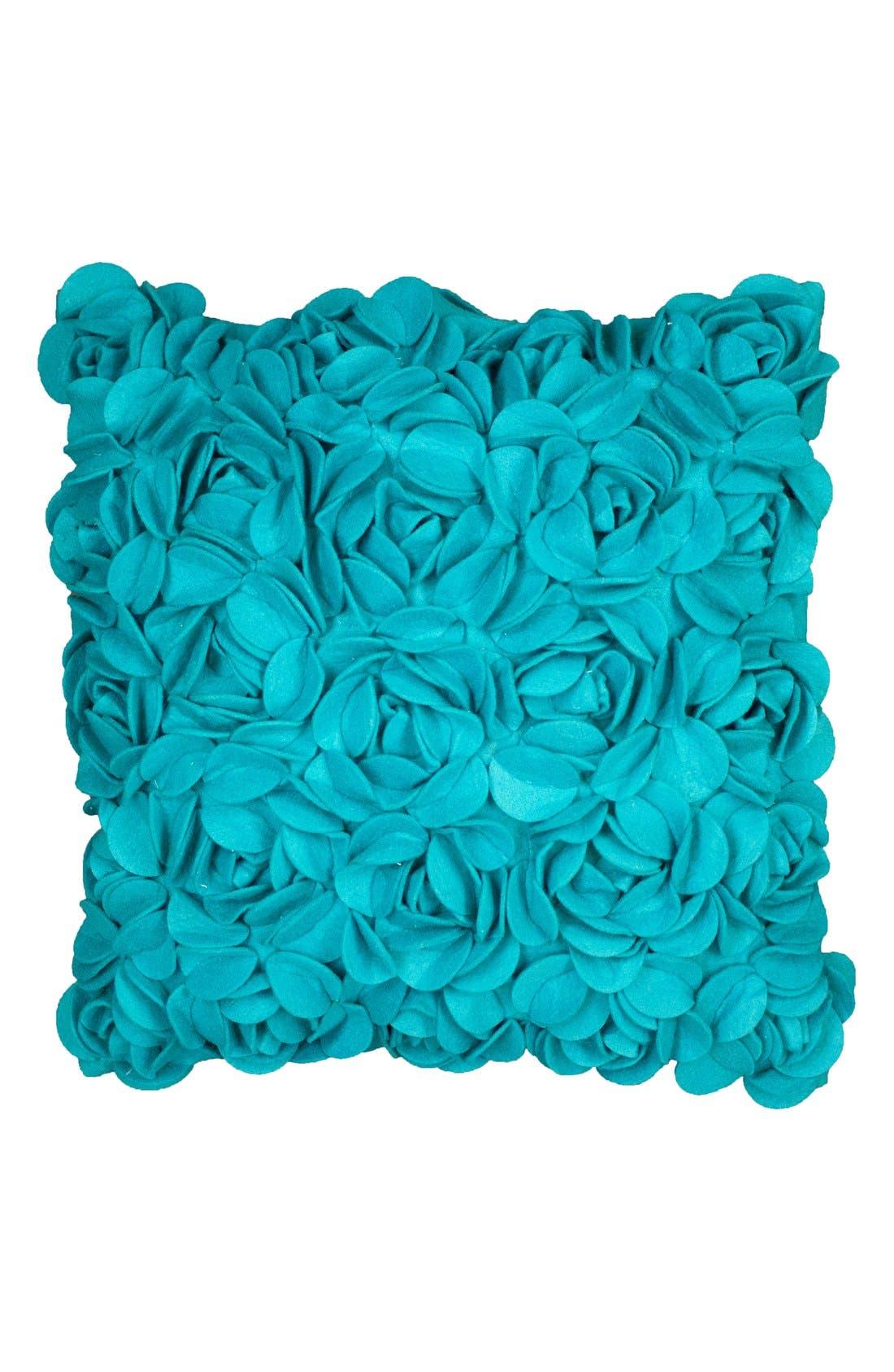 KAS Designs 3D Flower Pillow