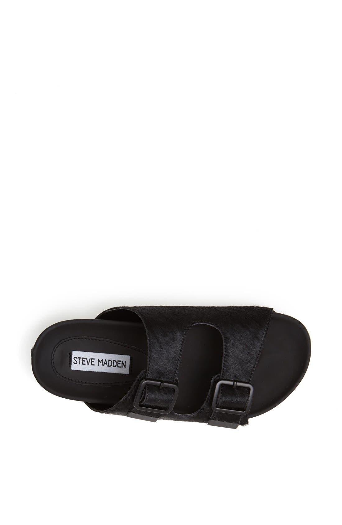Alternate Image 3  - Steve Madden 'Boundree' Calf Hair Sandal