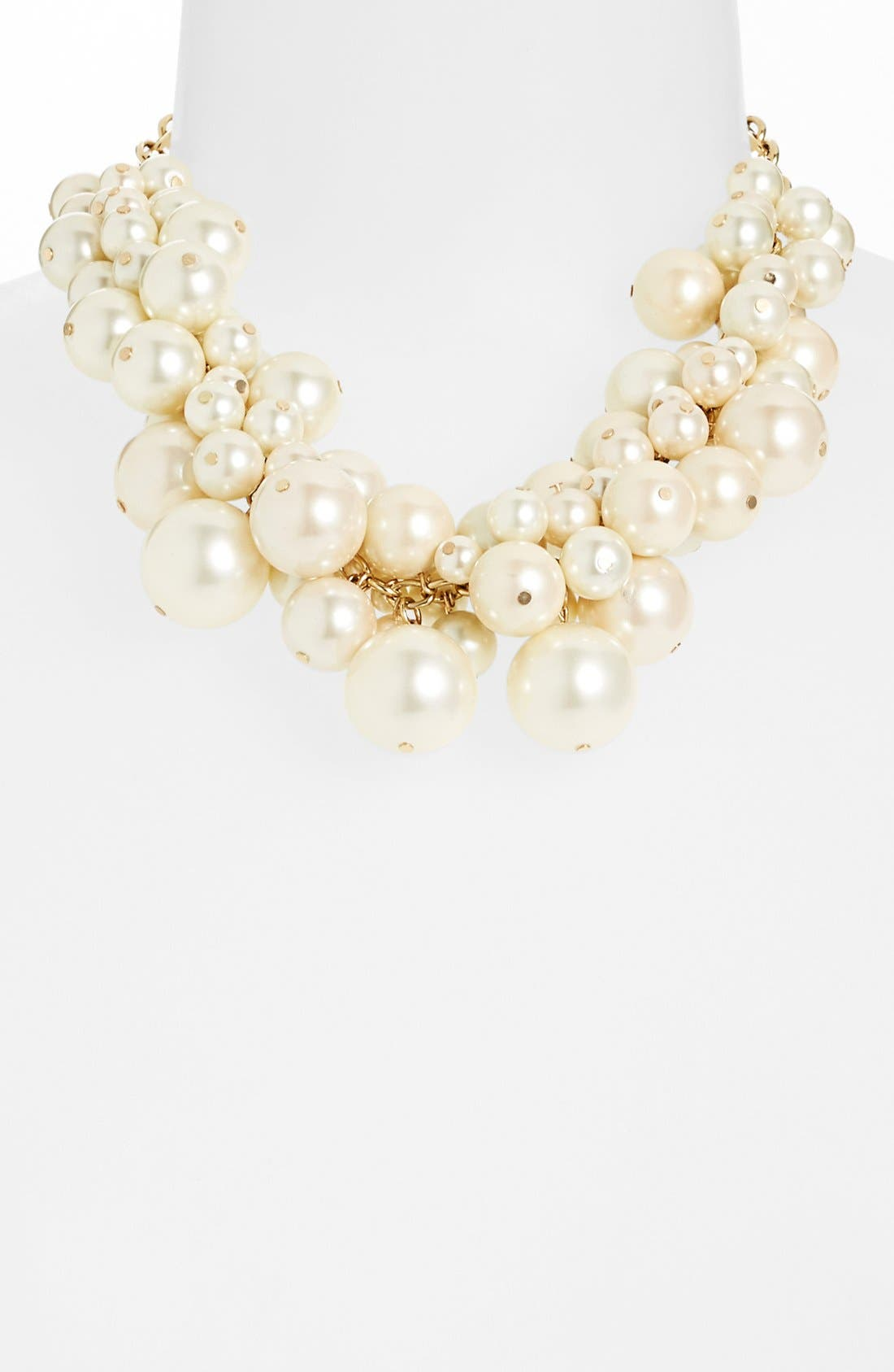 Main Image - Nordstrom Faux Pearl Bib Necklace