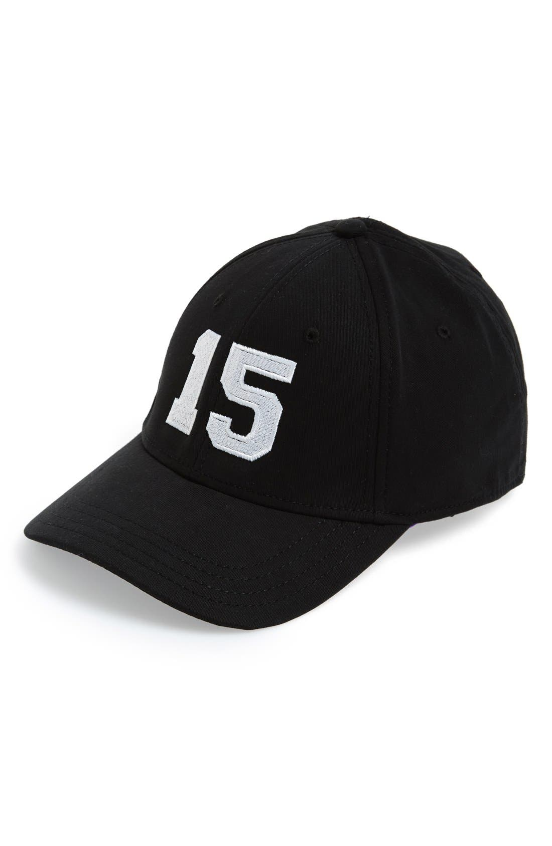 Alternate Image 1 Selected - Gents 'Number 15' Baseball Cap