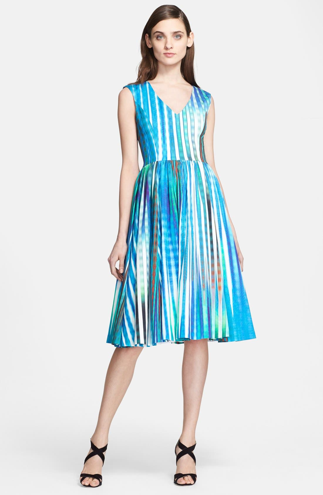 Main Image - Tracy Reese 'Dolce Vida' Print Stretch Twill Dress