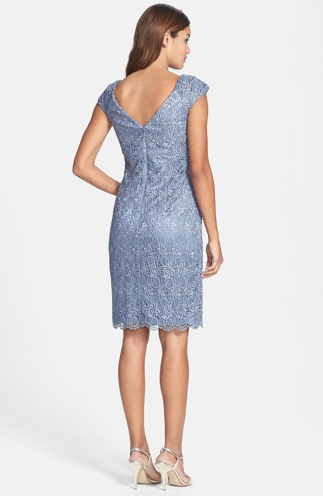 Alternate Image 2  - Patra Crochet Sheath Dress