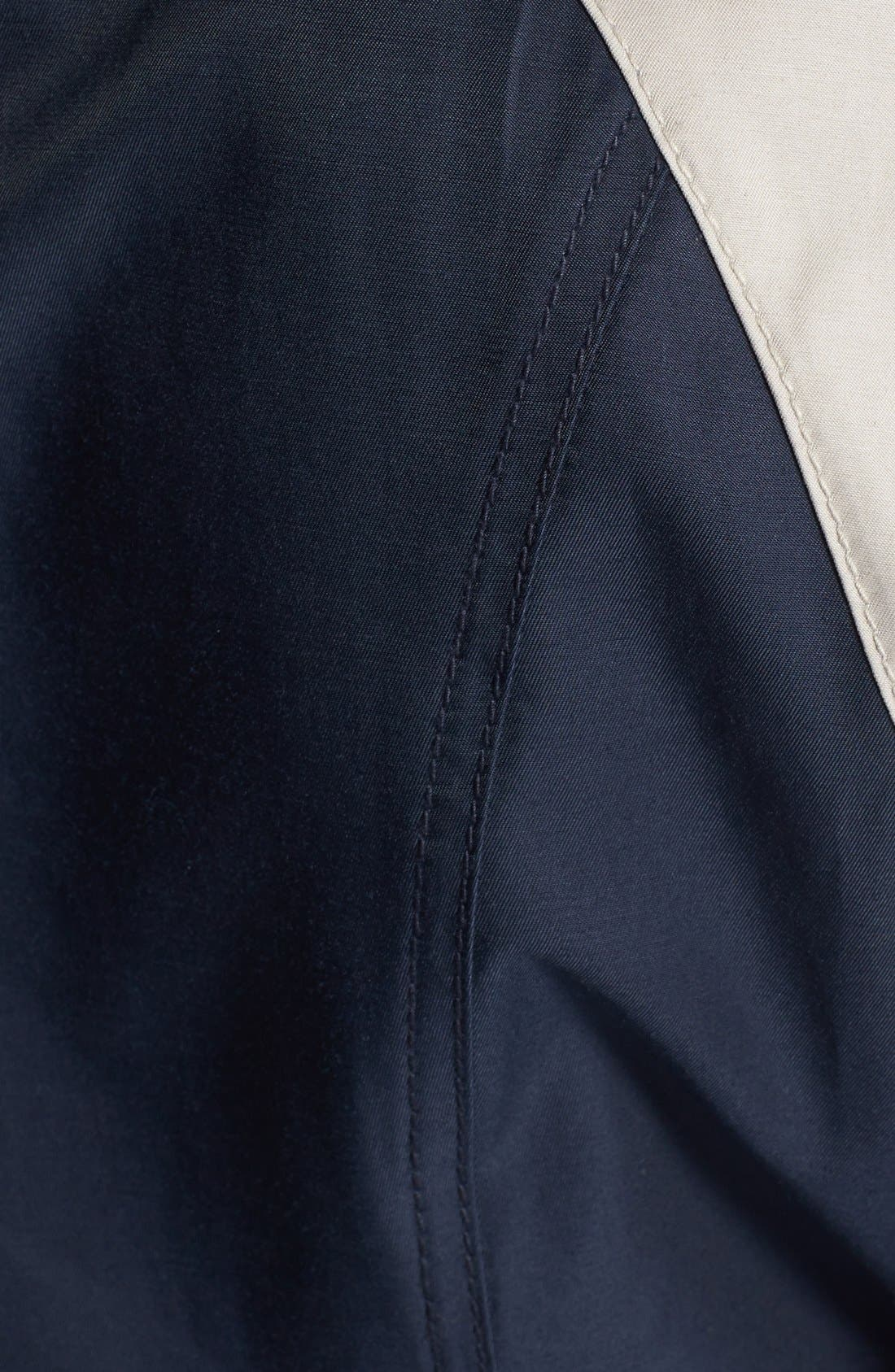 Alternate Image 3  - Laundry by Shelli Segal Two-Tone Double Breasted Anorak