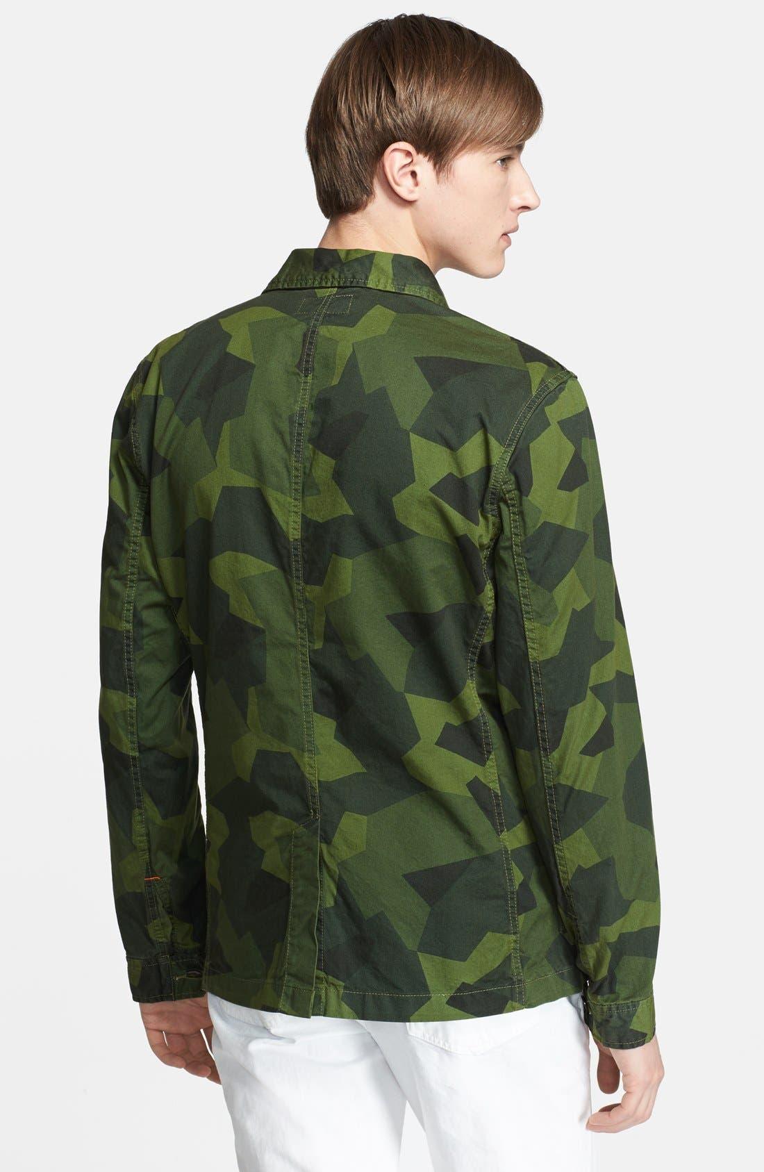 Alternate Image 2  - Jack Spade 'Buckner' Camo Short Jacket