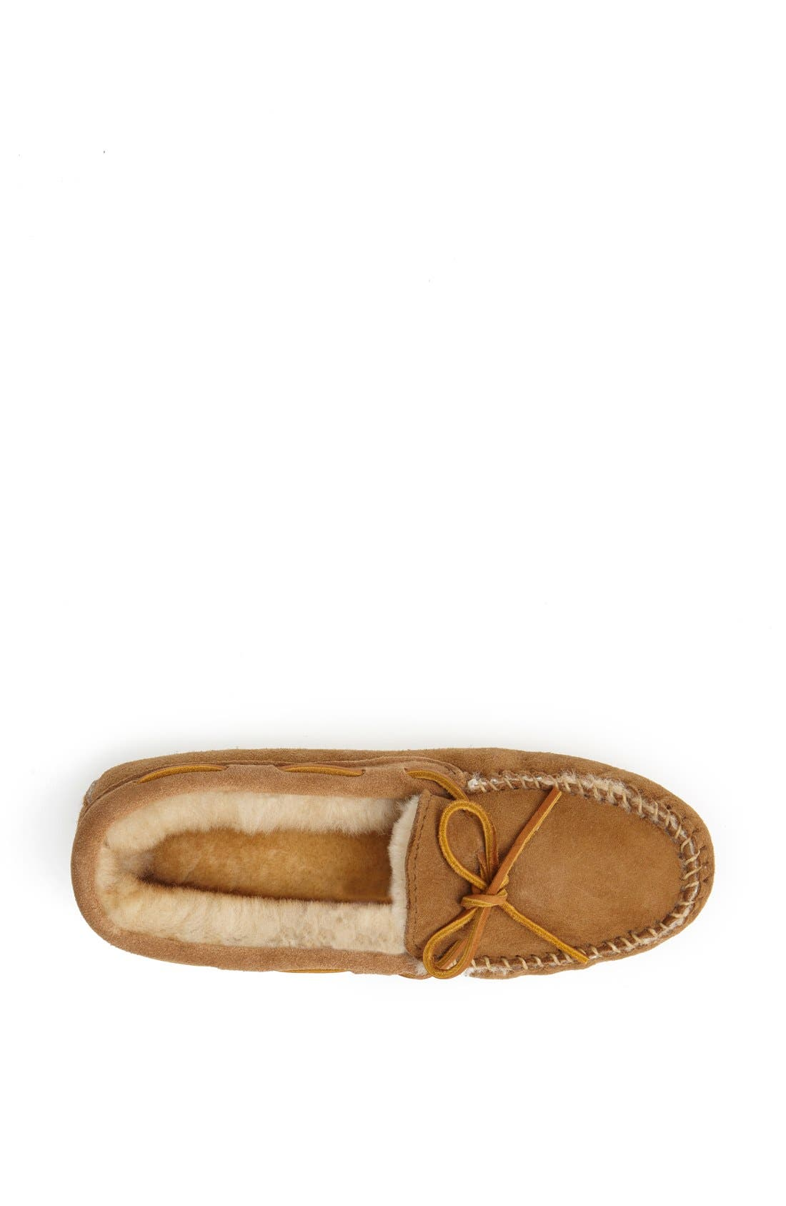 Alternate Image 3  - Minnetonka Softsole Sheepskin Moccasin (Women)