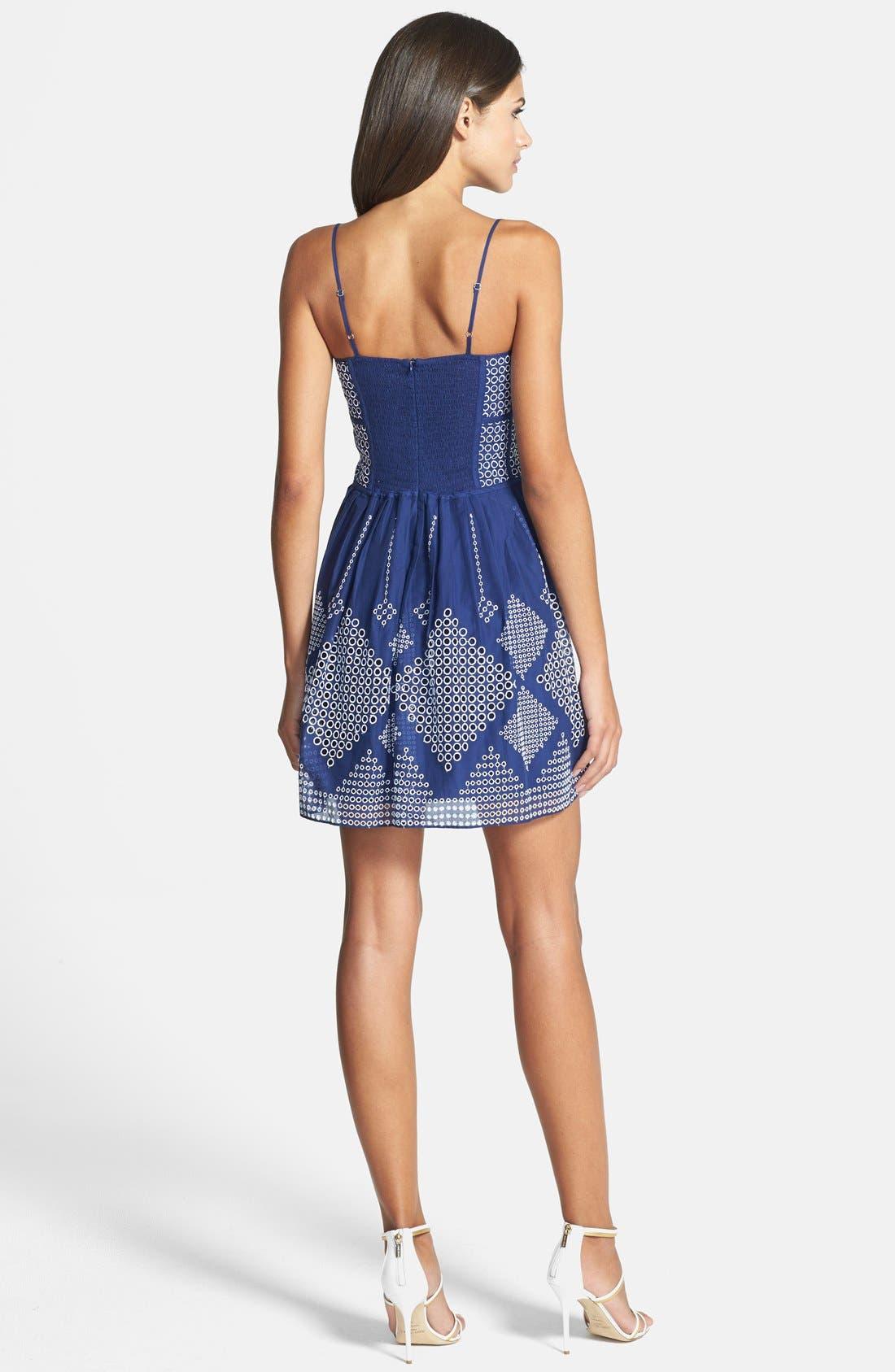Alternate Image 2  - Parker 'Francis' Fit & Flare Dress