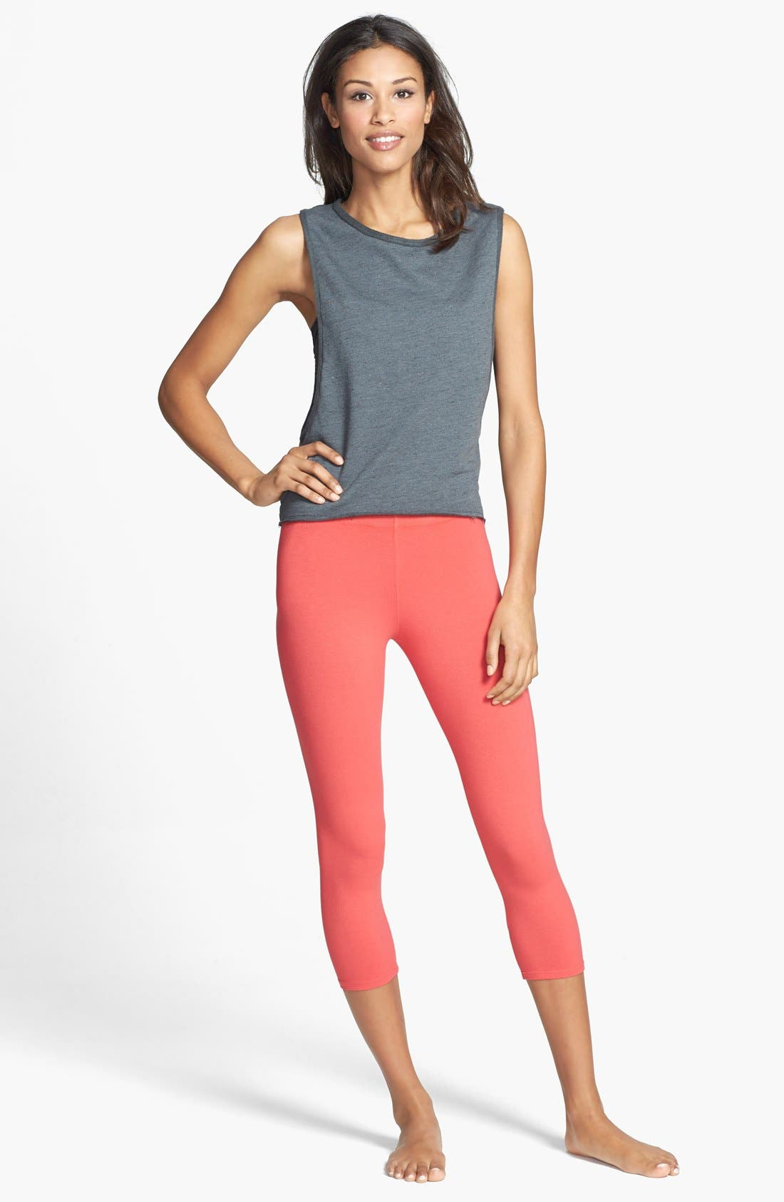 Alternate Image 3  - Solow Crop Leggings