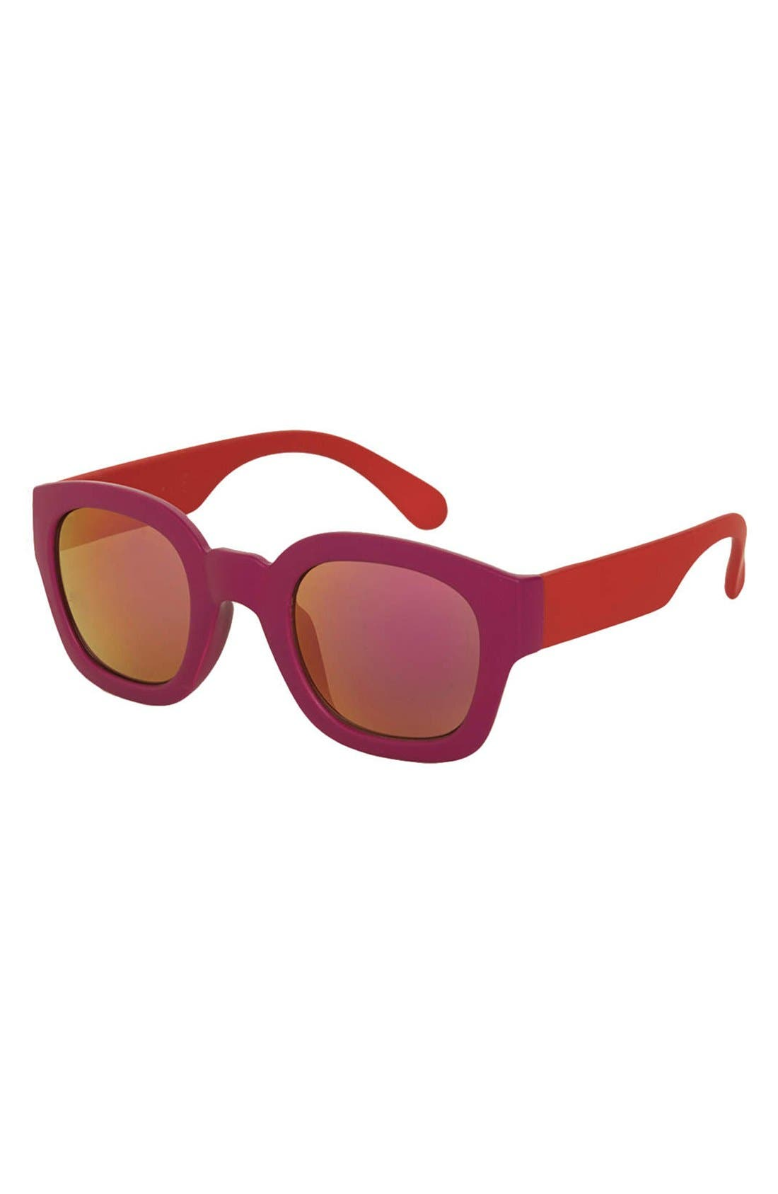 Alternate Image 1 Selected - Topshop 'Wade' 48mm Sunglasses
