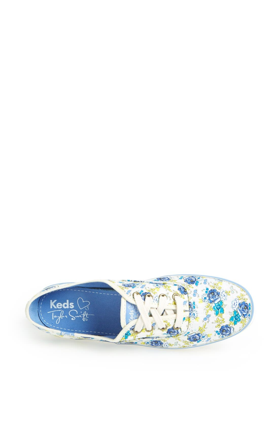 Alternate Image 3  - Keds® Taylor Swift 'Champion Floral' Sneaker (Women)